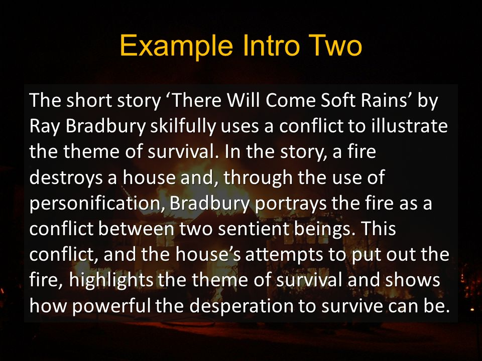 there will be soft rains summary