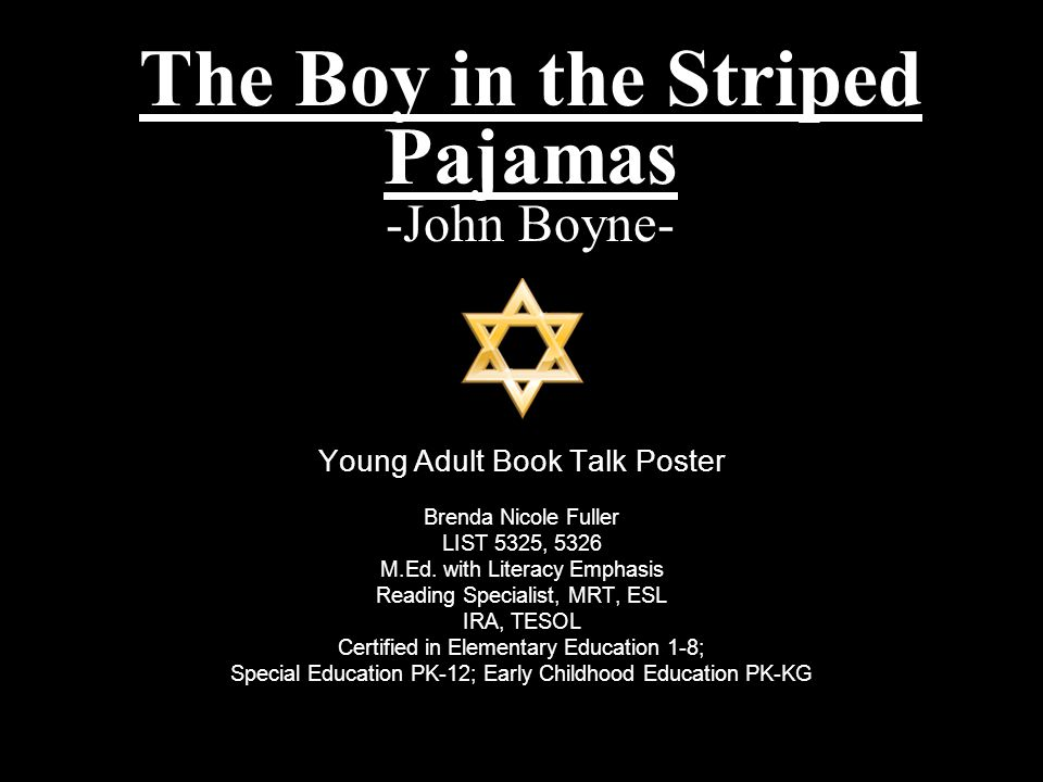 the boy in the striped pyjamas by john boyne essay The boy in the striped pyjamas is a story about a boy's friendship between bruno and shmuel that tells the world of the horrors of the holocaust, 1939 the holocaust through the techniques which john boyne used throughout the novel had an impact not only on the characters within the novel, but.