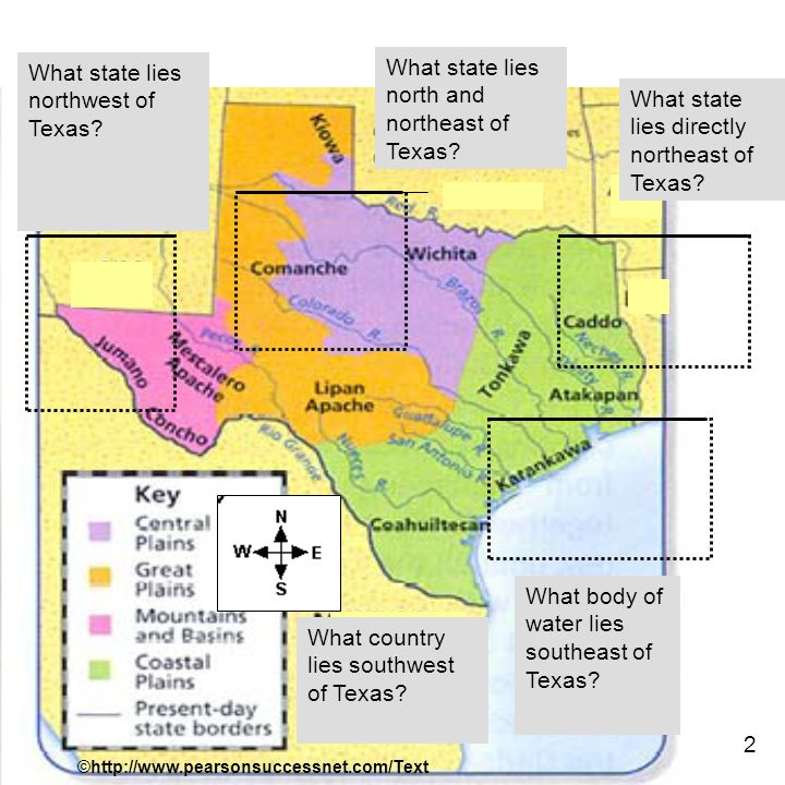 Map Of Texas Landforms.Delete This Slide How Does Where We Live Affect How We Live Let S
