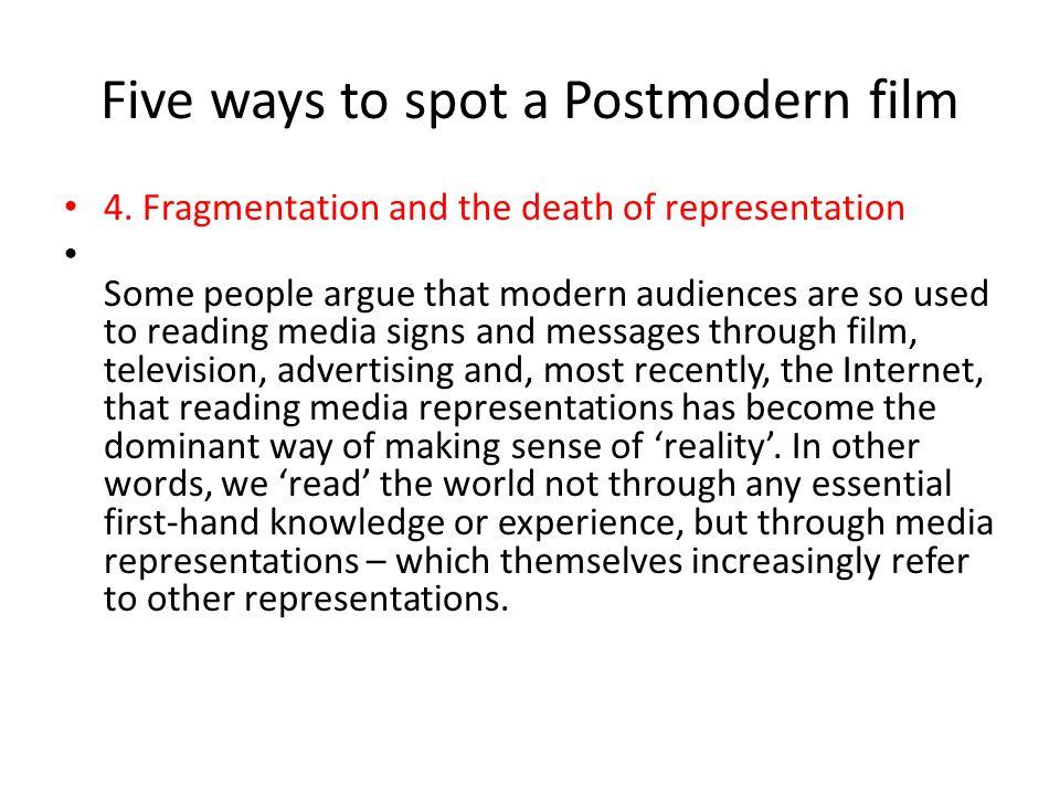 fragmentation postmodernism