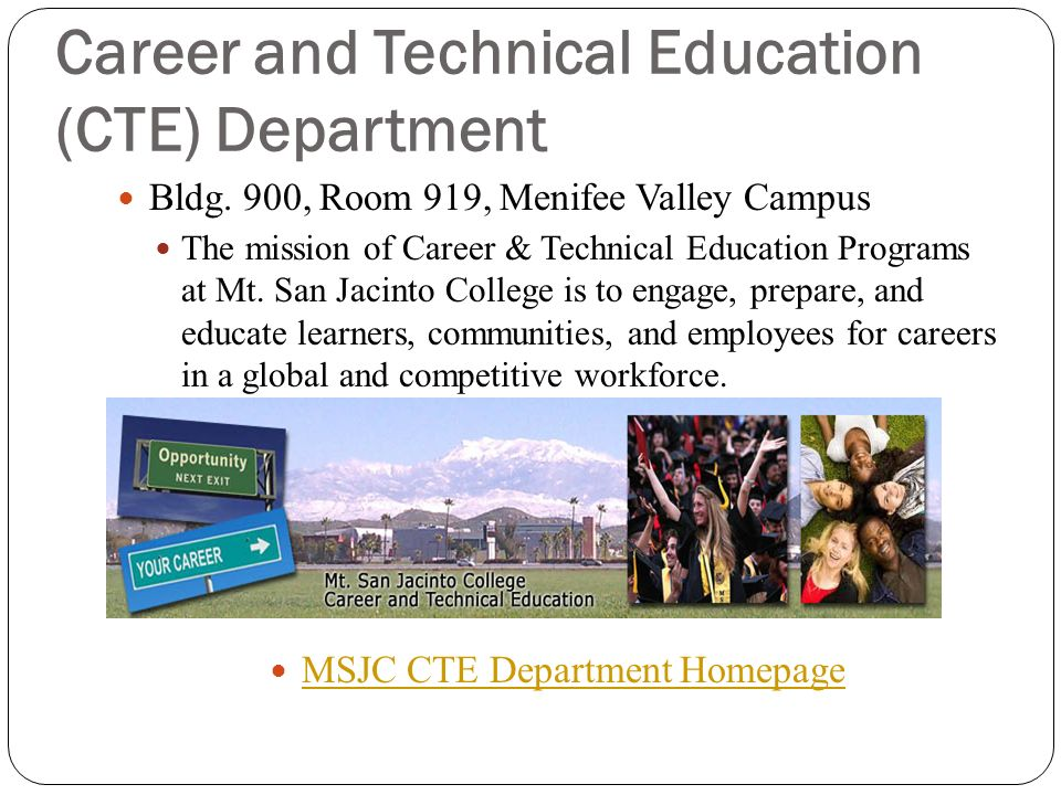 Career and Technical Education (CTE) Department