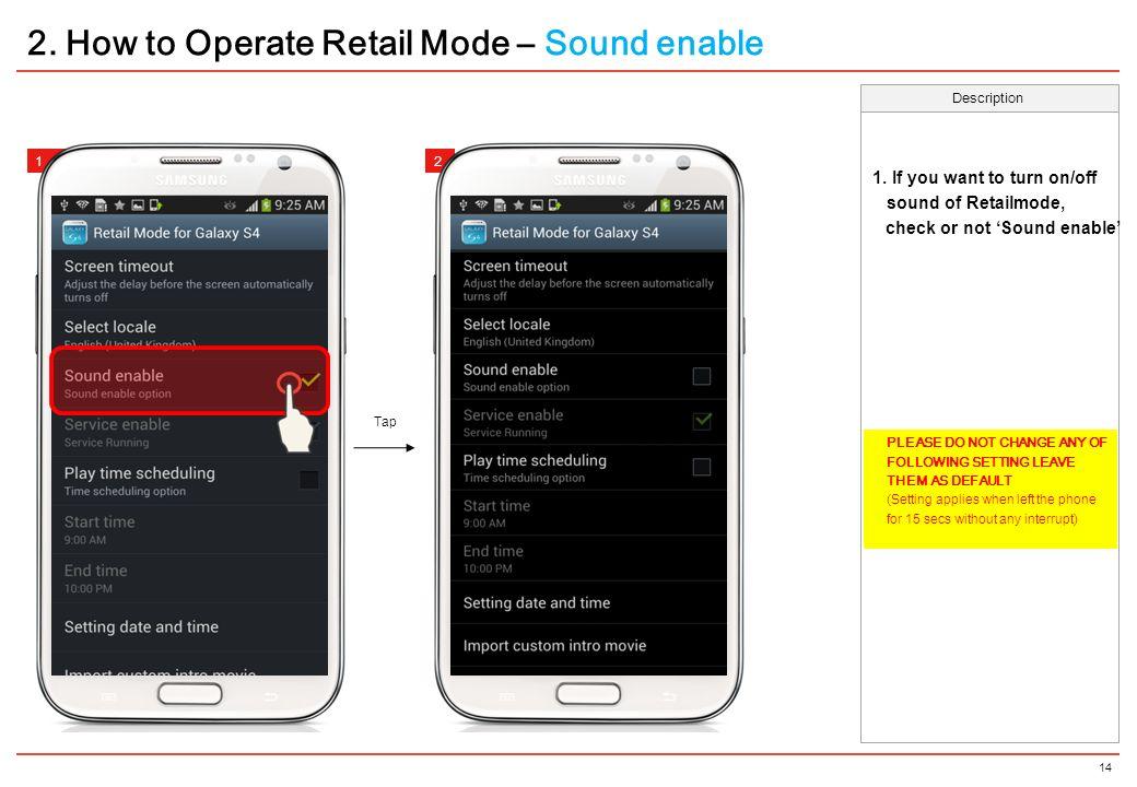 Samsung Retail Mode for LDU - ppt video online download