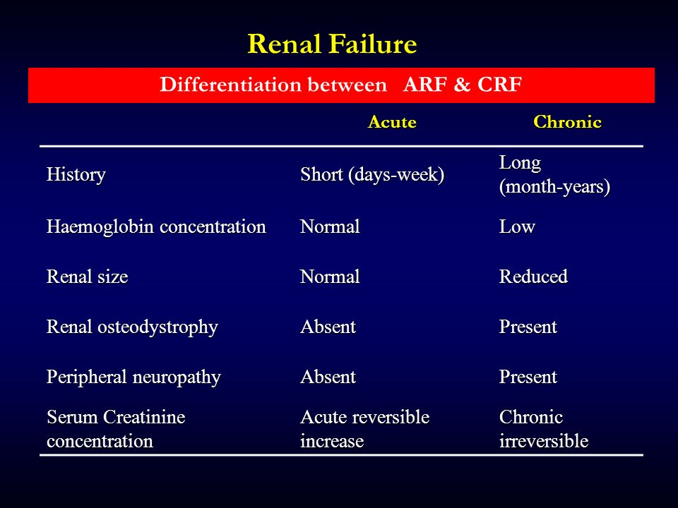 Renal Failure Ppt Download