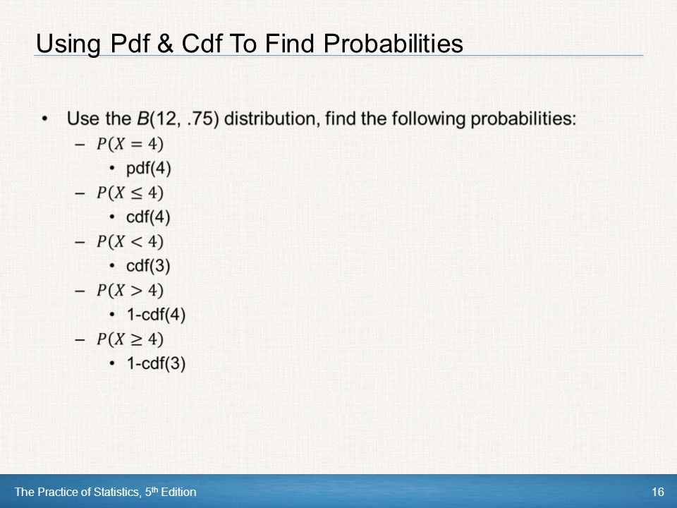 CHAPTER 6 Random Variables - ppt download