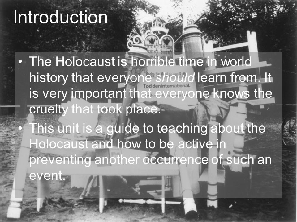 why is the holocaust important