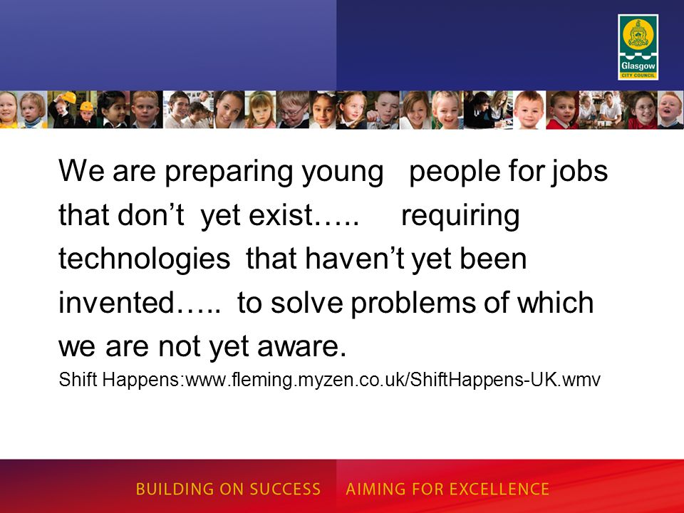We are preparing young people for jobs