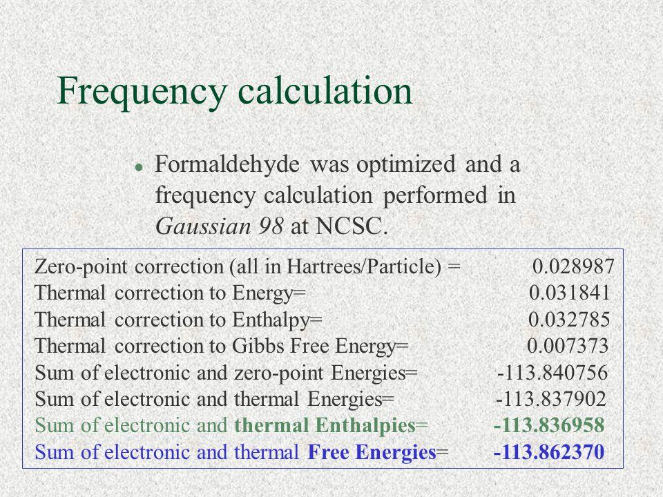 Calculating Molecular Properties - ppt video online download