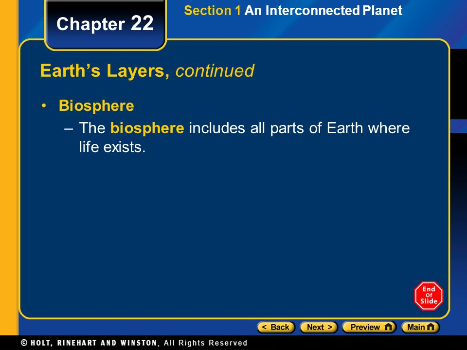 Earth's Layers, continued