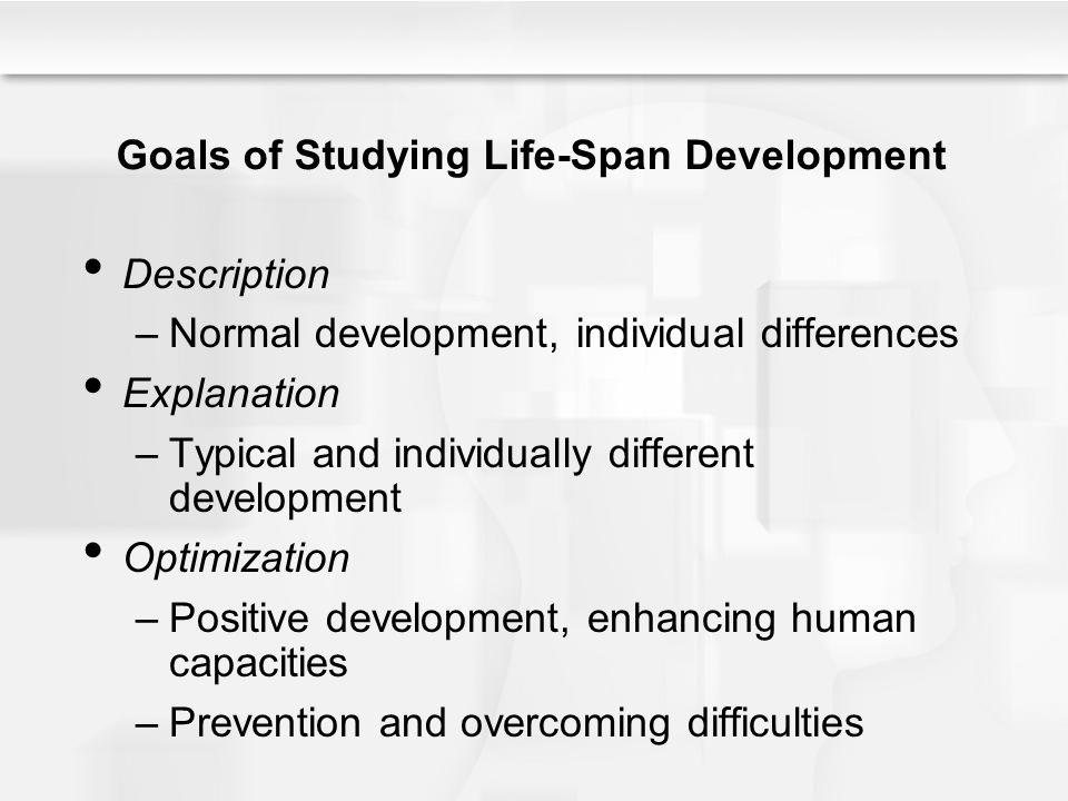 Chapter 1 understanding life span human development ppt video goals of studying life span development fandeluxe Images