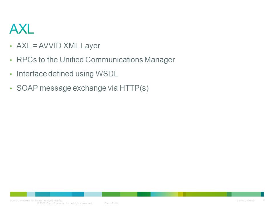 Extending Cisco Unified Communications Manager using the