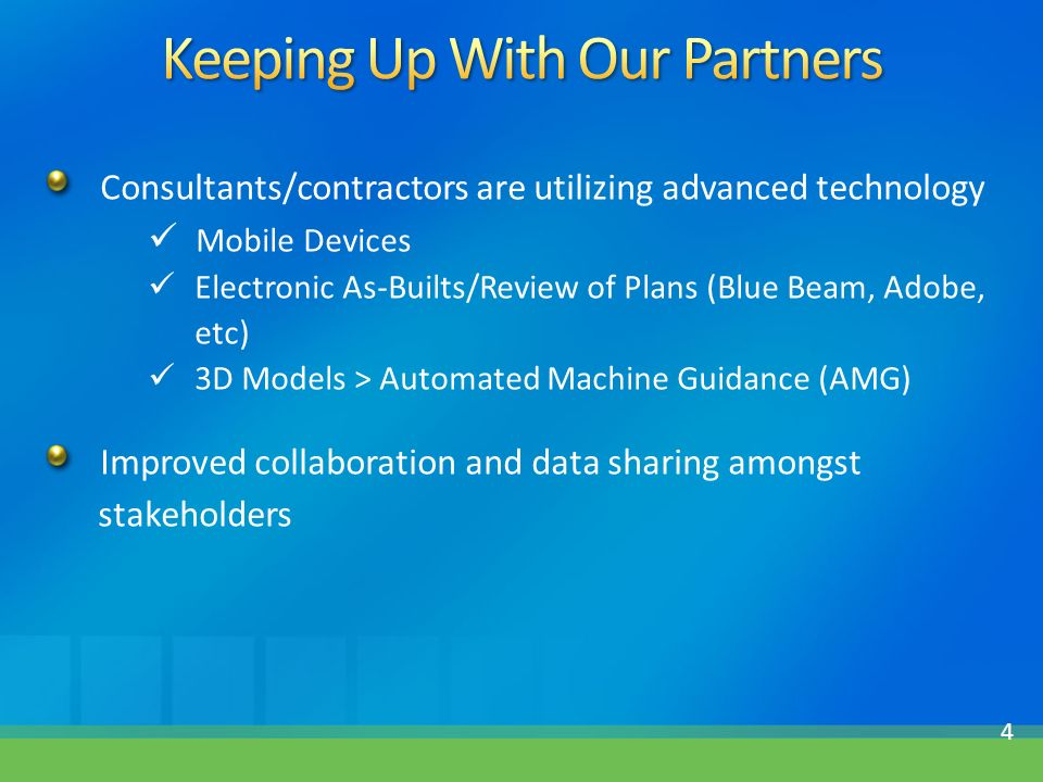 FDOT's Path to e-Construction - ppt download