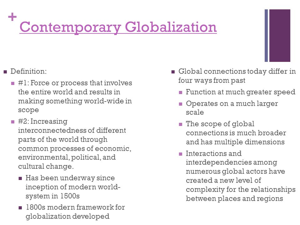 Contemporary globalization - ppt download