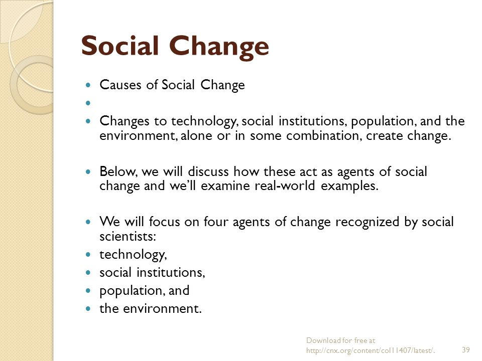 Sociology Chapter 21 Social Movements And Social Ppt Download