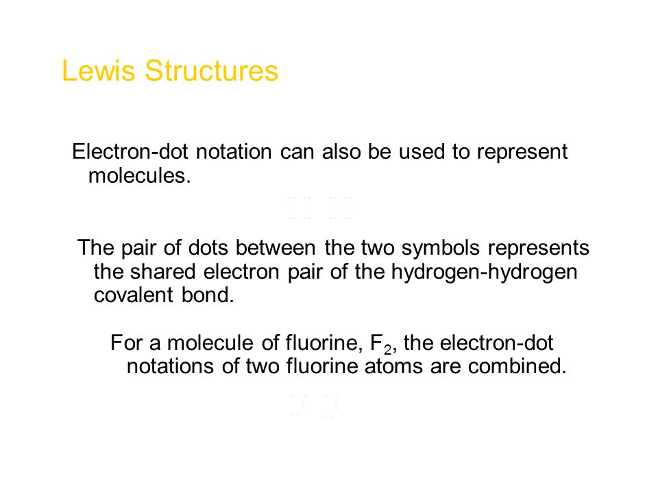 Lewis Structures Chapter 6