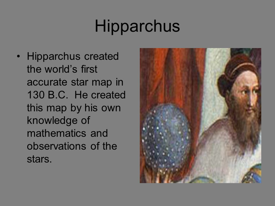 hipparchus accomplishments
