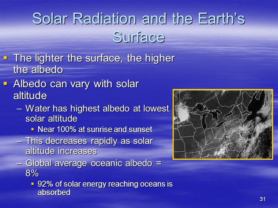 thesis solar radiation Abstract this thesis details potential design improvements by exploiting a new general grid model utilizing multiple wind and solar energy plants.