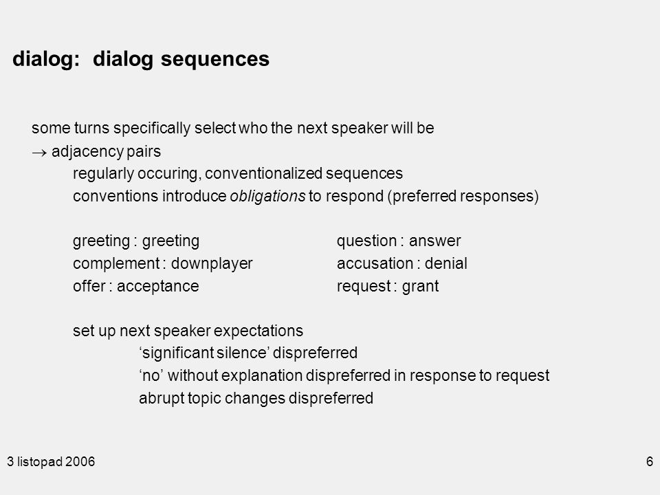 Dialog And Dialog Systems Elevator Project Seminar Ws06 07 Ppt