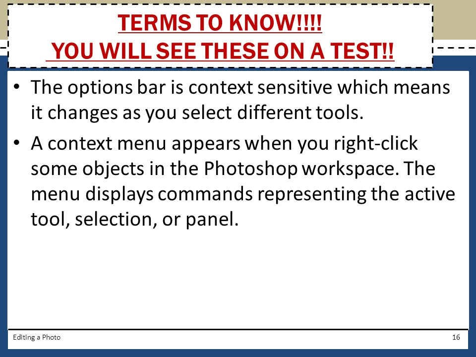 Adobe Photoshop CS5 Chapter 1 Editing a Photo - ppt download