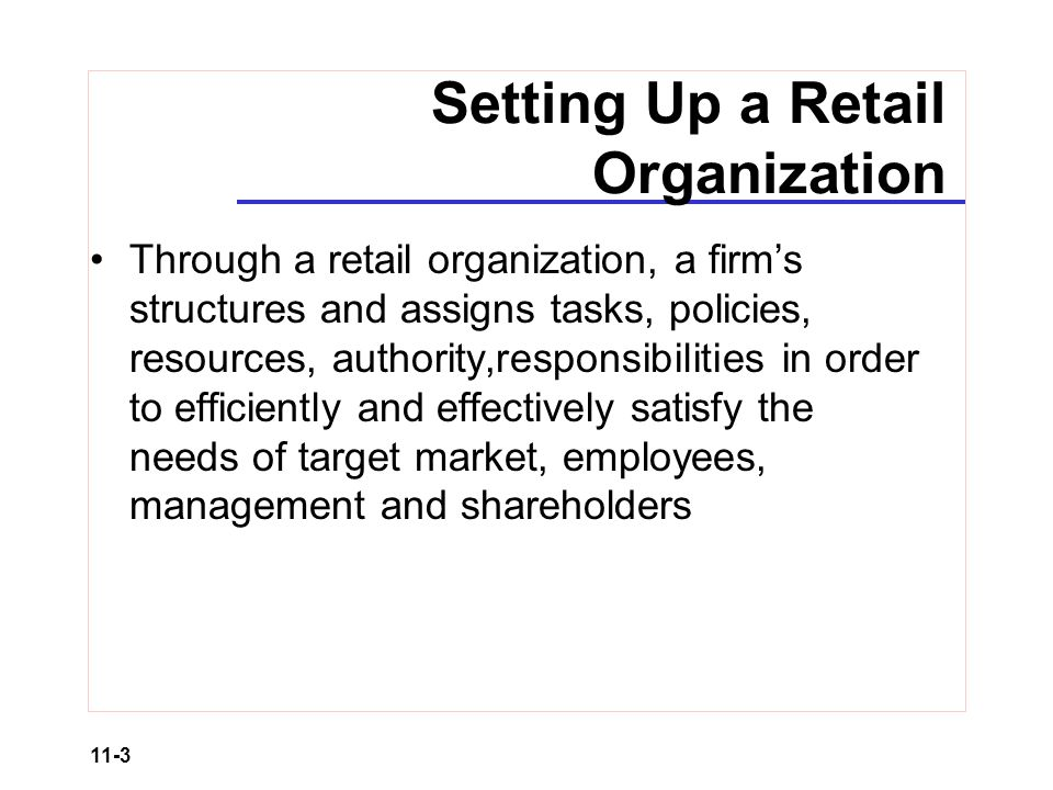 functions of hrm in retail organizations
