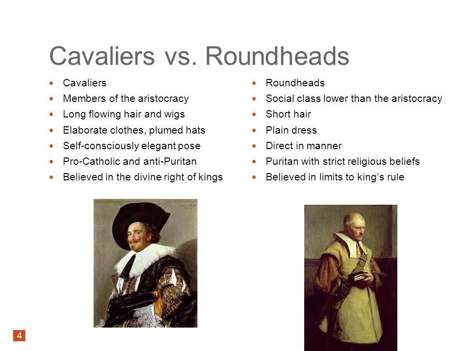 roundhead or cavalier