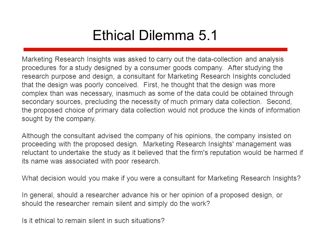 ethical dilemmas. - ppt download