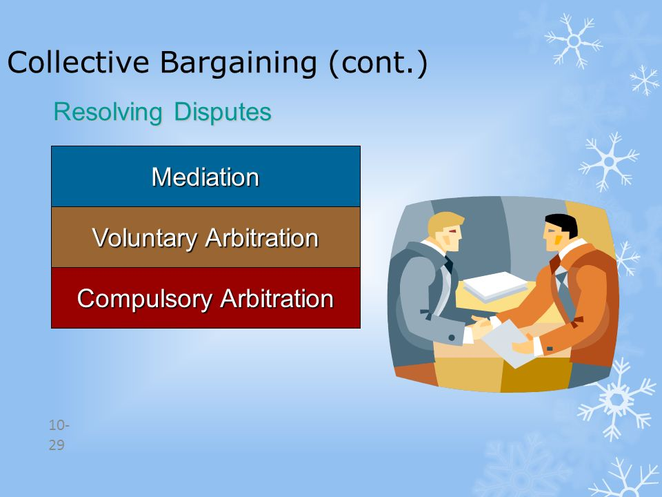 Collective Bargaining (cont.)
