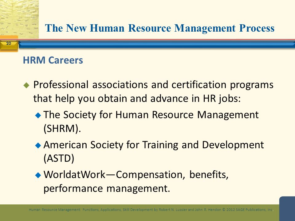 The New Human Resource Management Process Ppt Video Online Download