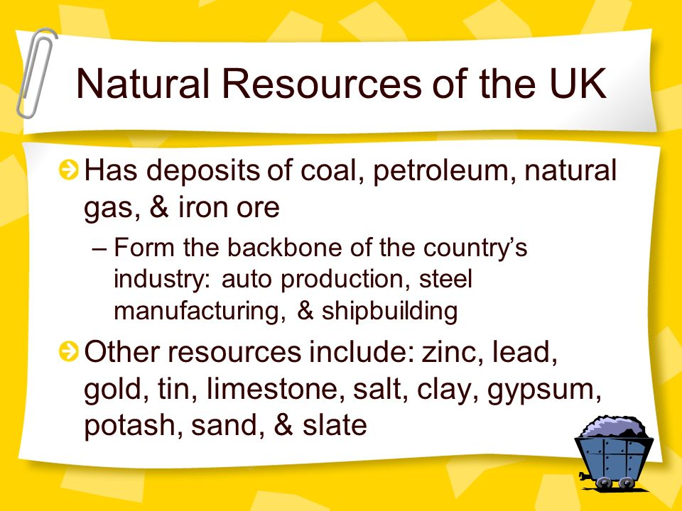 Natural Resources of the UK