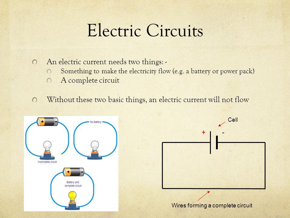 Electrical Circuit Diagram Ppt - More Wiring Diagram