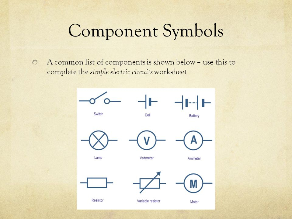 Simple Electric Circuits Ppt Download