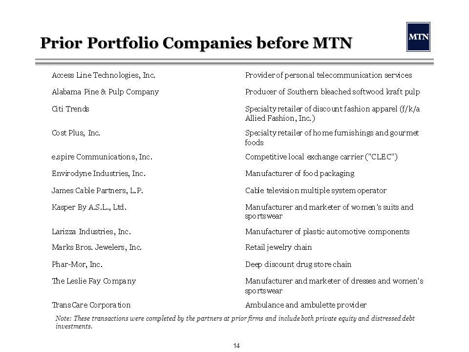 Mtn Capital Partners Llc Ppt Download