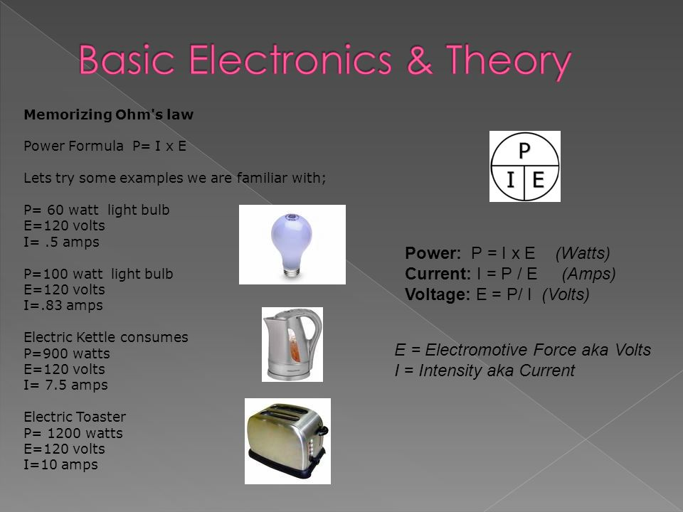 Basic Electrical Theory - ppt download