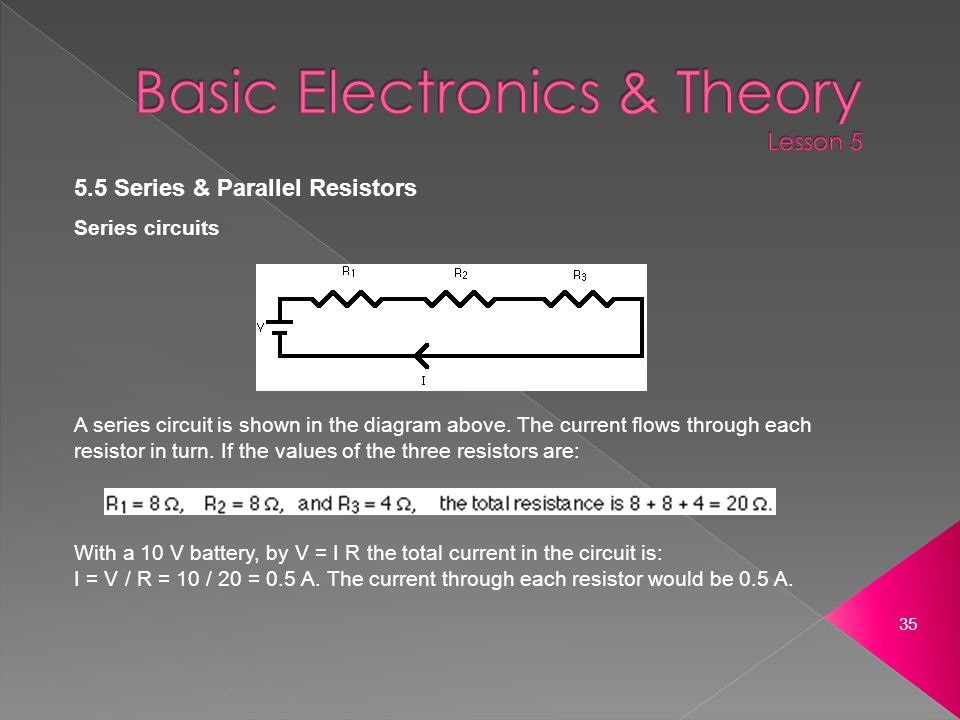 The Current Flowing Through Each Resistor In The Following Circuit