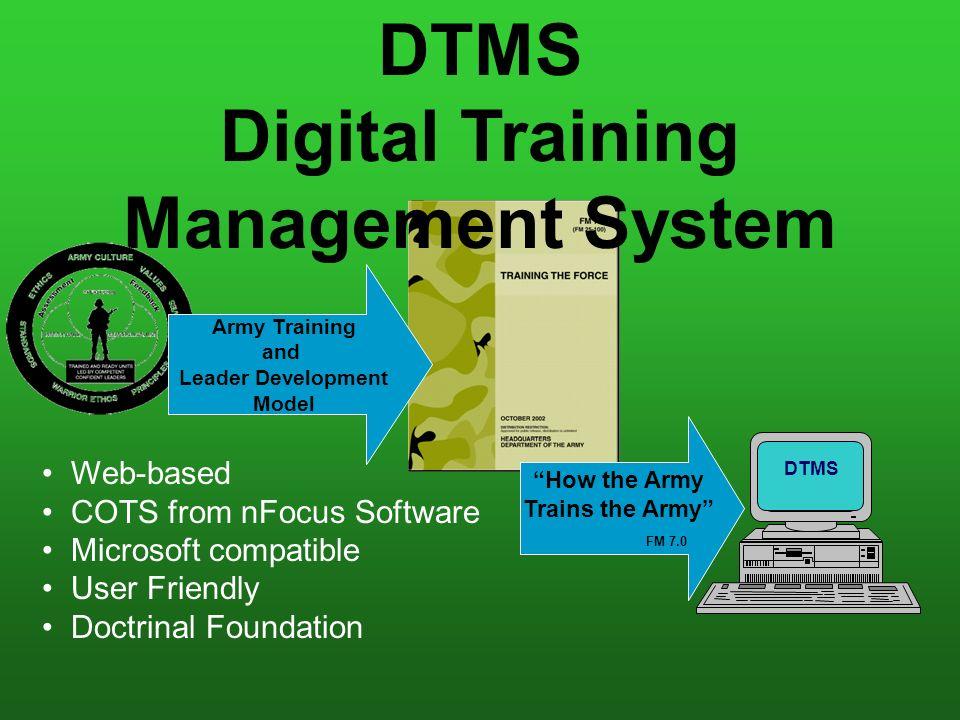 digital training management system dtms v ppt video online download rh slideplayer com Army Dtms Handbook army dtms user manual pdf