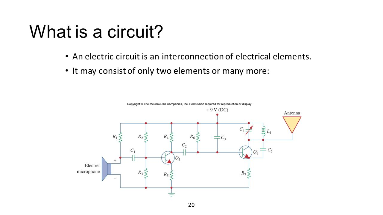 Electrical Circuits Dr Sarika Khushalani Solanki Ppt Video Online Electret Mic Schematic What Is A Circuit An Electric Interconnection Of Elements