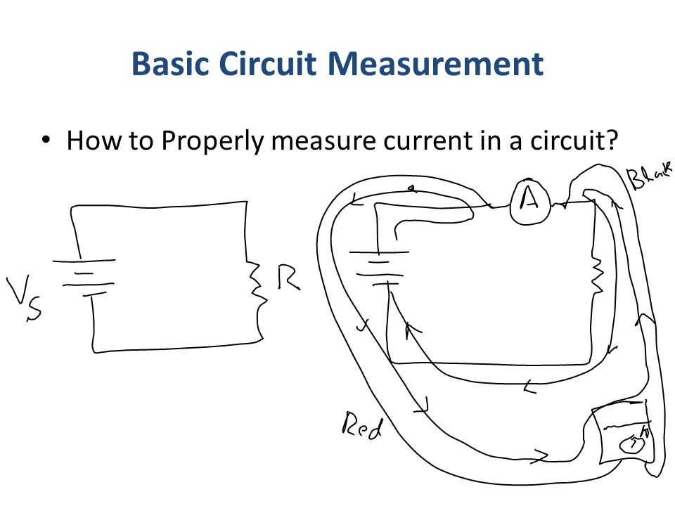 Basic Circuit Measurement