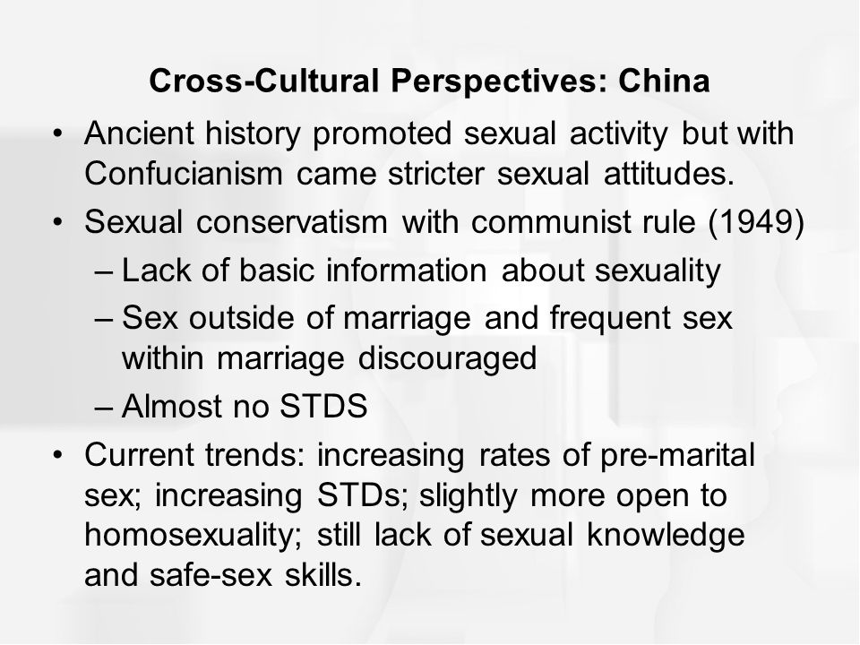Sexuality cross culturally