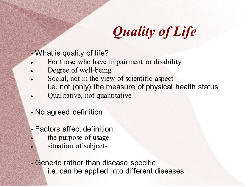 the impact of aphasia to the quality of life - ppt download