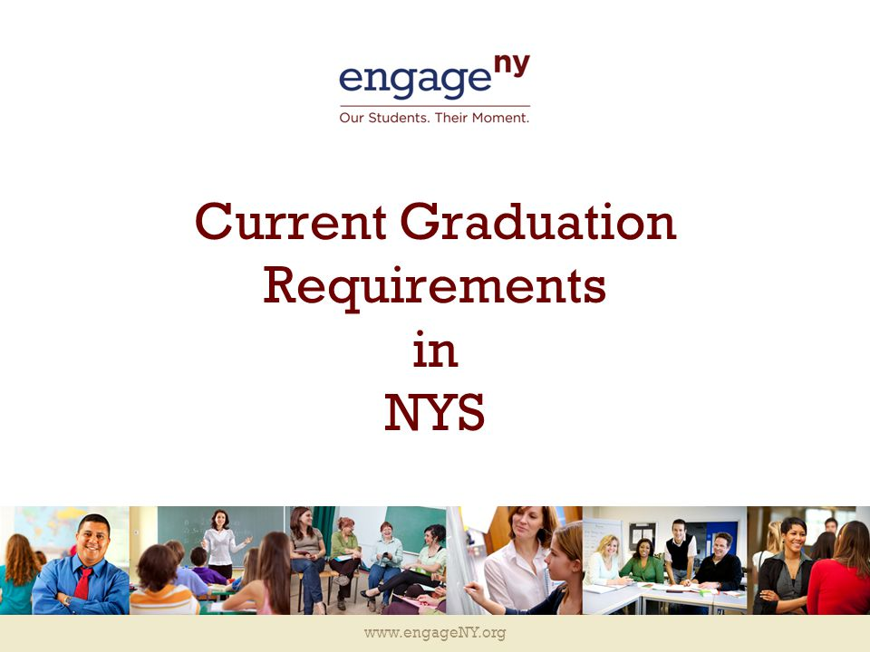 Current Graduation Requirements In Nys Ppt Download