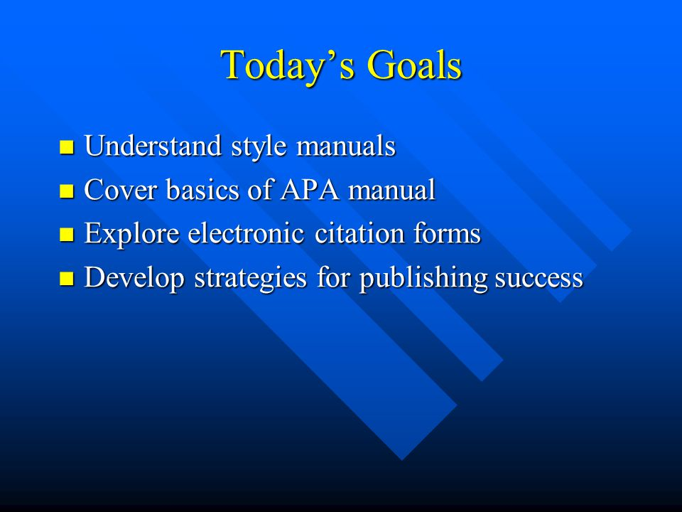 effective communication apa style citations Typically apa style reference list entries and in-text citations do not include the authors' academic credentials or professional titles exceptions to including the title in apa style citations occur when the person's title is in essence their name for example, although pope francis was born jorge mario.