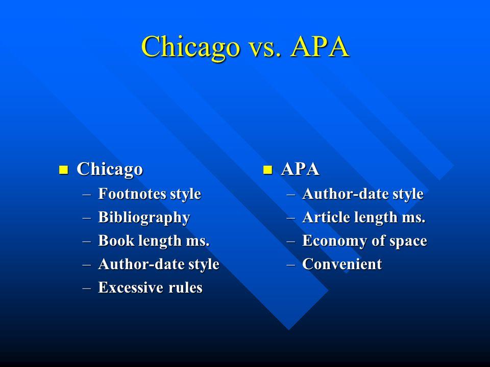 apa chicago style