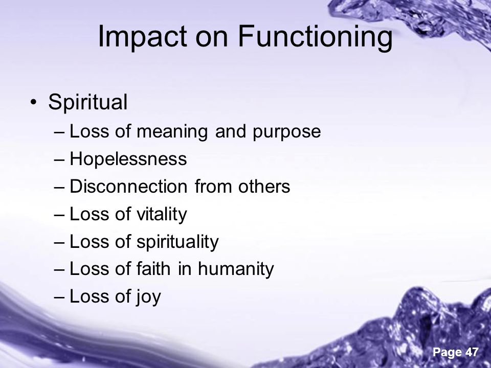 Trauma The Impacts Of And On Spirituality Ppt Download