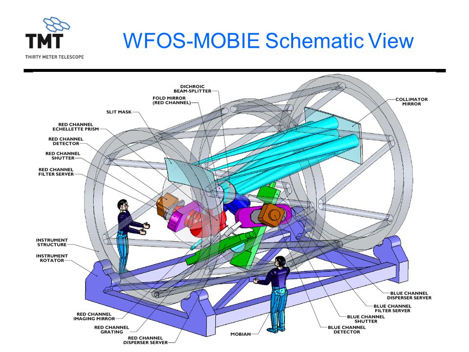 WFOS-MOBIE Schematic View