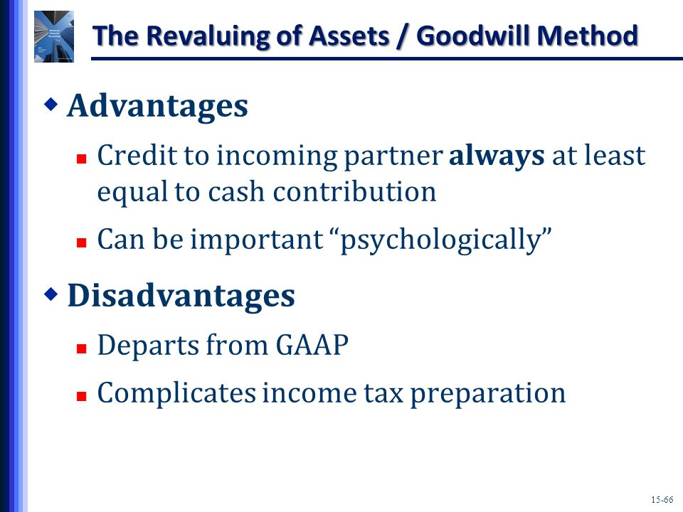 The Revaluing of Assets / Goodwill Method