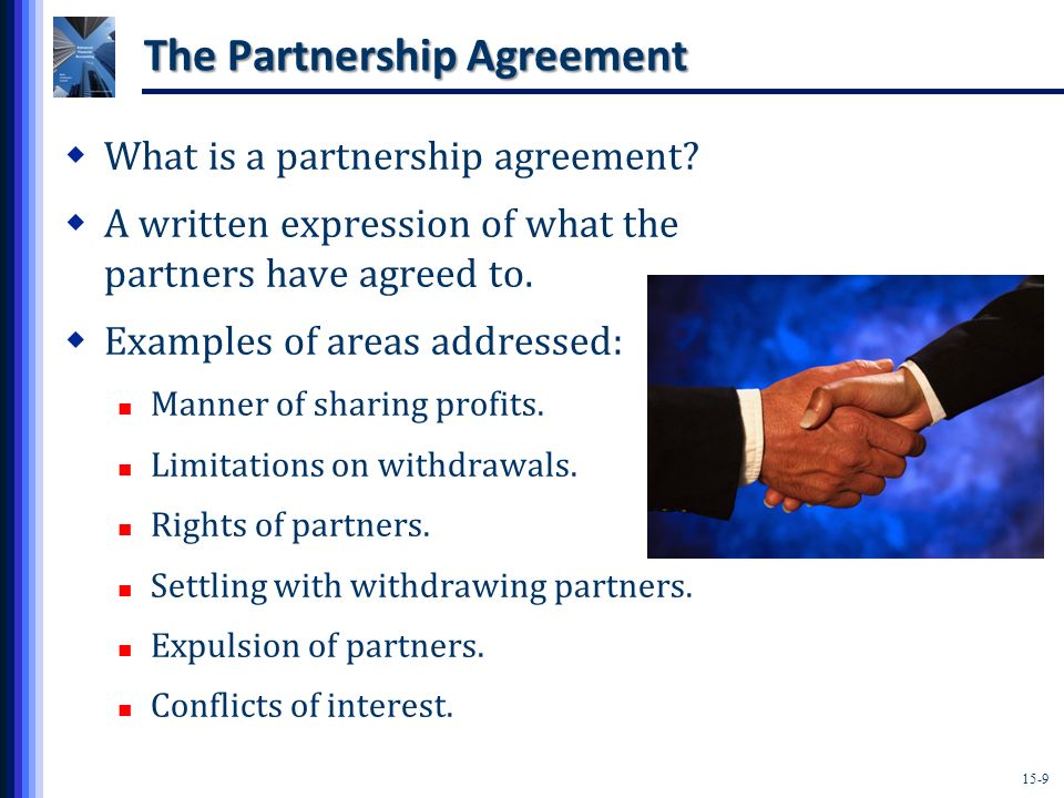 The Partnership Agreement