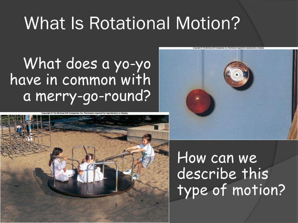 What Is Rotational Motion