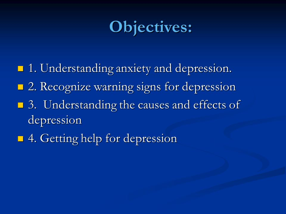 chapter 5 mental and emotional problems ppt video online downloadunderstanding anxiety and depression