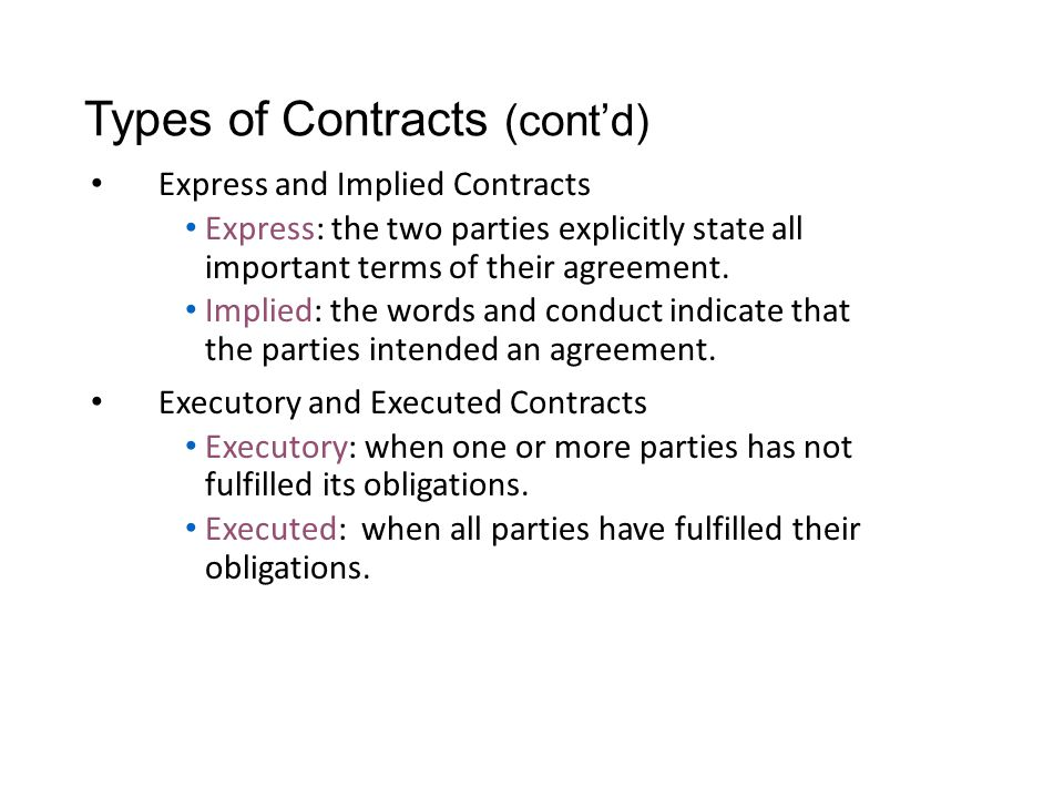 Contracts Definition A Promise That The Law Will Enforce Ppt Download