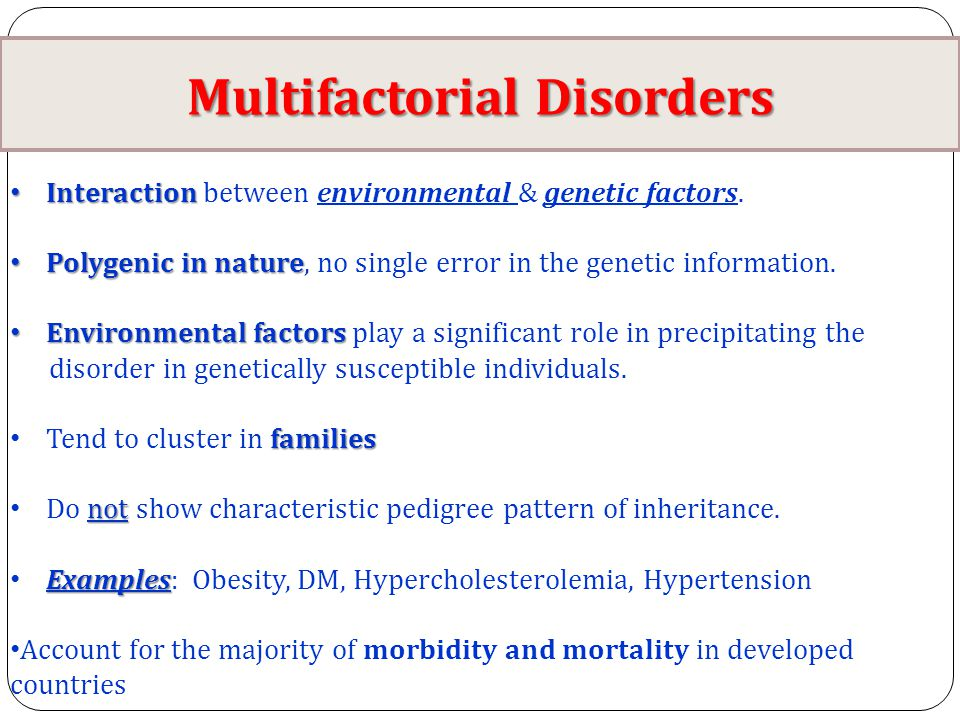Genetic Disorders Diseases Ppt Video Online Download