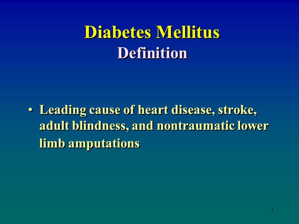 diabetes mellitus definition ppt download